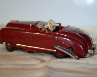 Schuco 4012 Radio Car Auto Clockwork US Zone Germany 1952-64