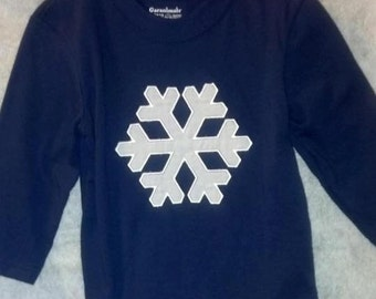 Boys Snowflake Shirt 18 Months