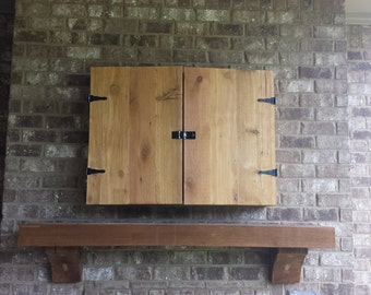 Custom Wall Hanging TV Cabinet