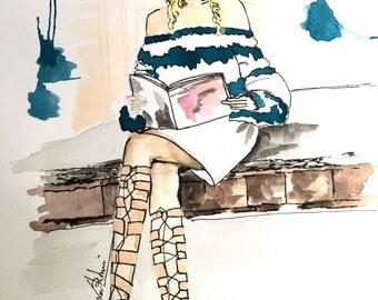 Custom Digital Fashion Illustration