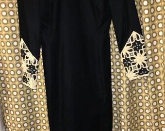 Escada Couture Black Dress