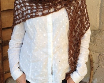 Light braun shawl
