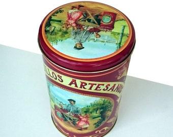 Original Spanish Vintage Container