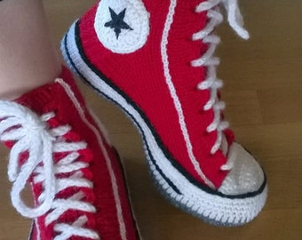 Converse -style slippers