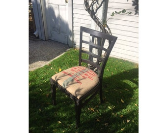 upcycled lounge chair