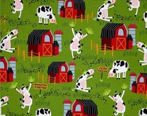 Dancing Cow Curtains!!!  Cows and Barn Curtains!!!  Children Curtains!  Down On The Farm Curtains!!! 4 Color Choices!!!