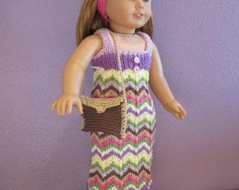 Summer Knit Sweater Dress