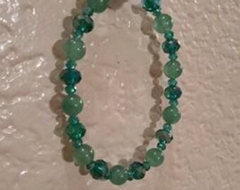 Sparkly Green Bracelet