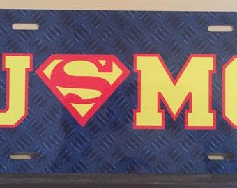 USMC Super License Plate