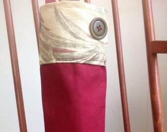 Handmade wine or bottle carrier