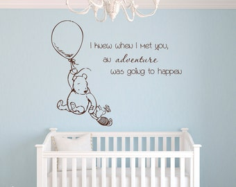 Winnie The Pooh Wall Decal | Etsy AU Part 79