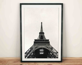 Eiffel Tower Wall Decor eiffel tower print | etsy