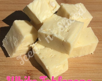 White Toblerone Chocolate Fudge Pieces - handmade to order