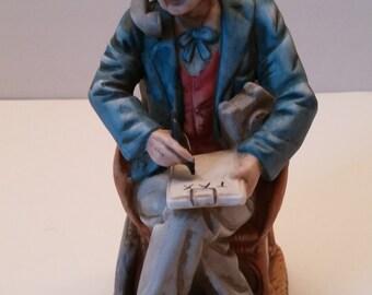 Capodimonte Style CPA Figurine