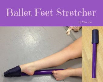 Ballet Feet Stretcher improves the arch and foot stretch of Dancers, Gymnasts, Ballerinas and Skaters.  FREE US Shipping!
