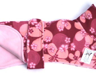 Pink Orchid Design Funky Fleece Dog Coat