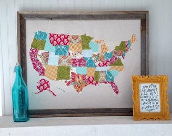 United States Scrap Map