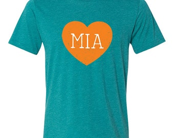 Miami Love Vintage Tri-blend T-Shirt