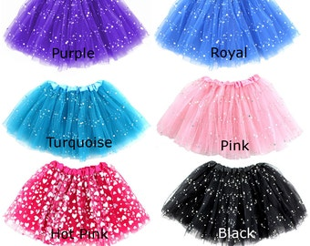 Sequin Ballerina Tutu *Many Color Options