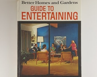Mad Men Better Homes and Garden Guide To Entertaining 1969