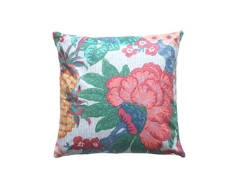 Pillow cover,Decorative pillow,tropical pillow,pillow,retro,Any Size,throw pillow,shiny pillow,home decor,painted pillow,gift