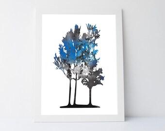 Tree wall art print, Nature print, Forest print, Bedroom decor print, Tree decor Wall print, Bedroom art Printable, wall decor art