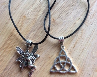 Fairy Celtic Faerie Pendant Necklaces Pagan Wiccan Nature Beautiful pendants FREE SHIPPING girlfriend gift