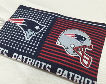 New England Patriots Credit Card/Business Card Holder/Wallet