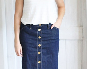 The Button Up Pencil | Pencil Skirt Pattern
