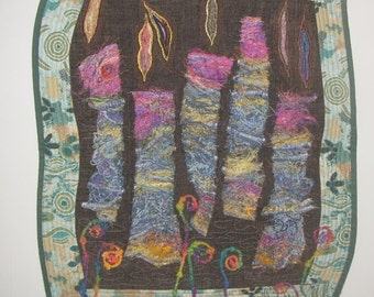 Joys of Spring Art Quilt
