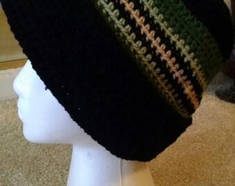 X Large Crocheted Versatile Beanie
