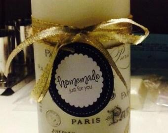 Decorative Paris Candles