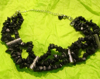 blackstone choker style necklace