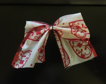 Heart Hair Bow
