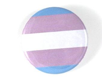 """Transgender Pride 1.5"""" & 2.25"""" Buttons"""