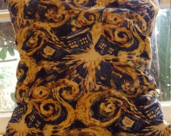 Doctor Who Exploding Tardis Pillow/Case