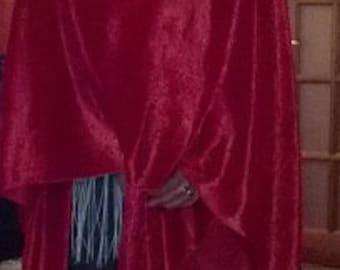 Crushed velvet shawls Pashimnas and scarfs