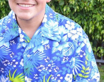 Father and Son matching vacation shirts  Island Getaway, Daddy and me (Boy) Hawaiian Shirts, Beach, cruise , Luau Party