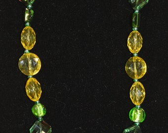 Green & Yellow Necklace