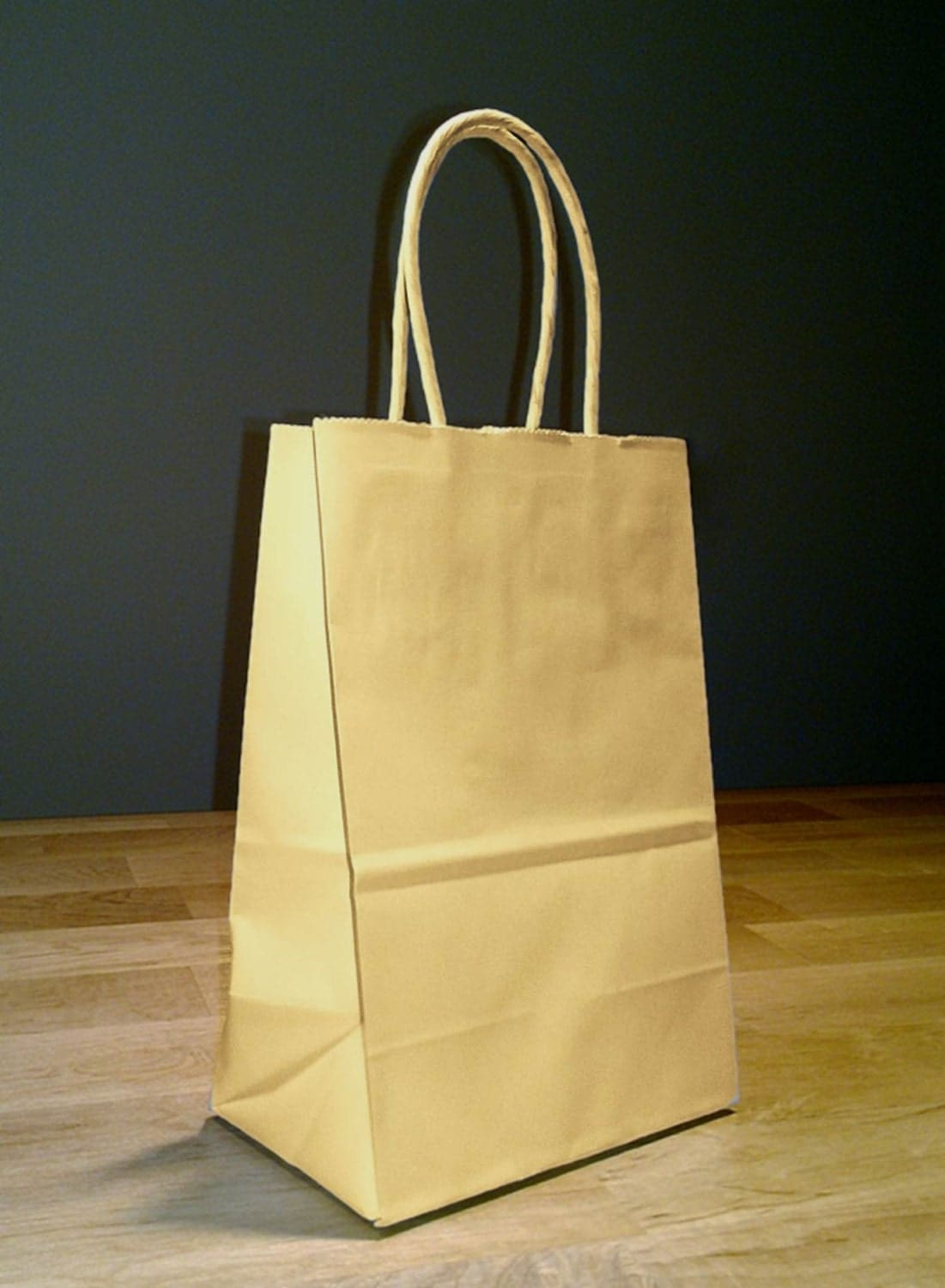 5x4x8 Approximate Small Kraft Brown Paper Shopping Gift Bags