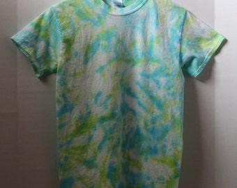 Green and Blue Tie Dye