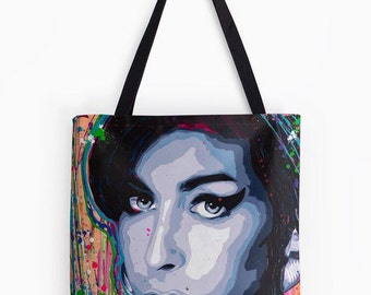 Amy Winehouse Tote Bag