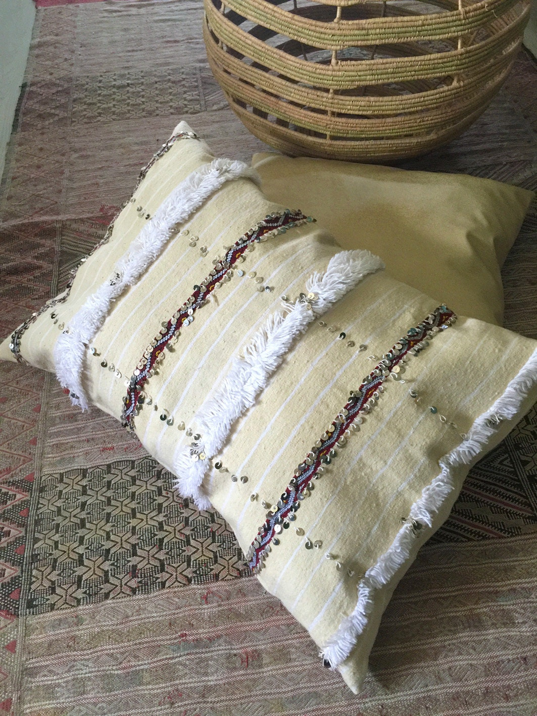 Giant Moroccan Floor Pillows : Floor pillow cover Extra large Moroccan wedding by SunnyHomeStory