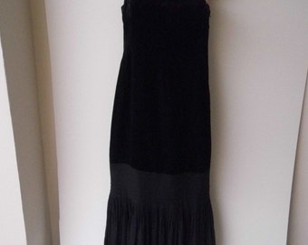 1930s evening dress with later alterations size 8