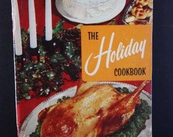 Vintage Cookbook, Retro Cookbook, 1950s cookbook, Culinary Arts Institute cookbook, Mid century cookbook, Holiday cookbook