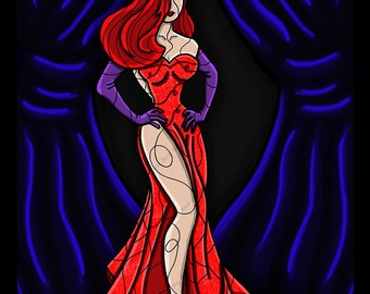 Jessica Rabbit Takes the Stage