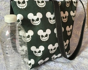 Jack Skellington Mickey Head Disney Cross Body Messenger Bag