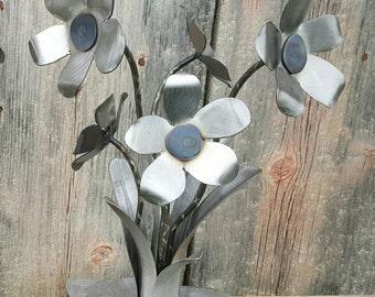 Handcrafted Five Flower Arrangement