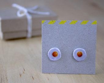 Egg Stud Earrings