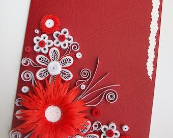 Birthday card, Quilling card, Quilling card, Quilled Birthday Card, Paper Quilling, Quilling Art Greeting Card